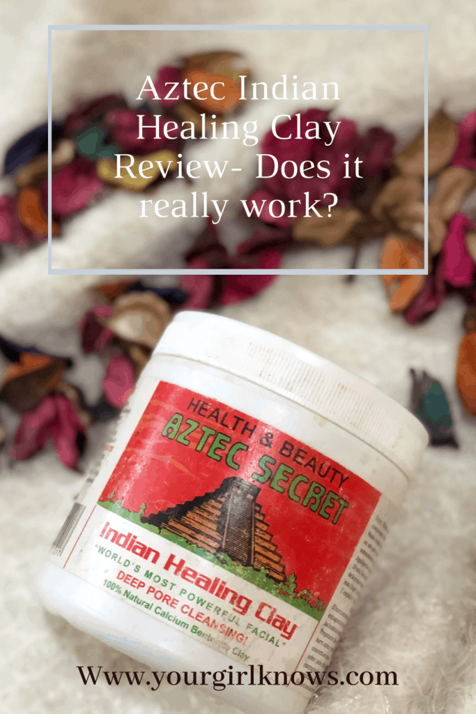 AZTEC INDIAN HEALING CLAY MASK REVIEW (the secret of beauty bloggers)