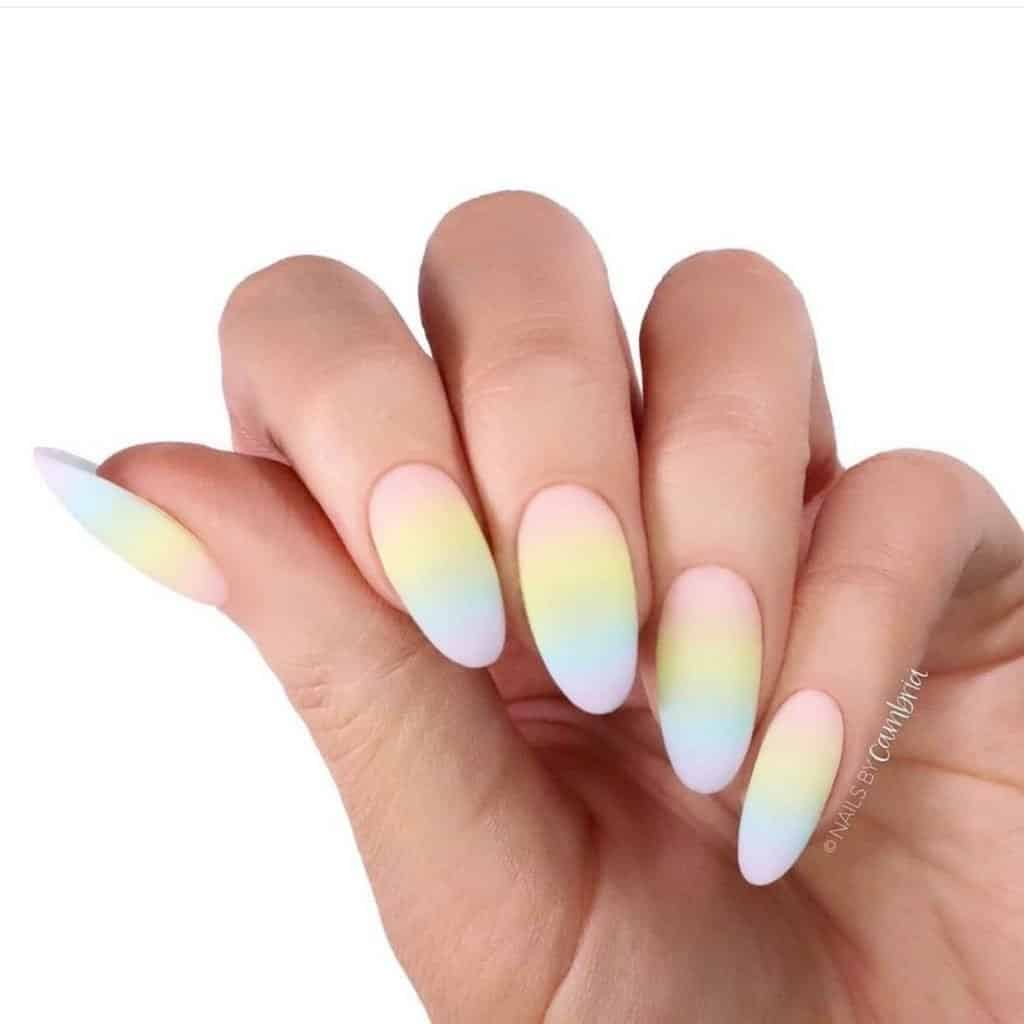 20+ Bright summer nails For 2021