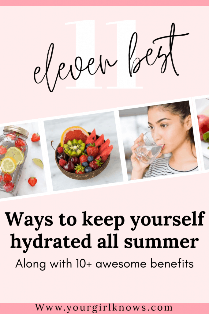 12 Tips on How to stay hydrated in the heat