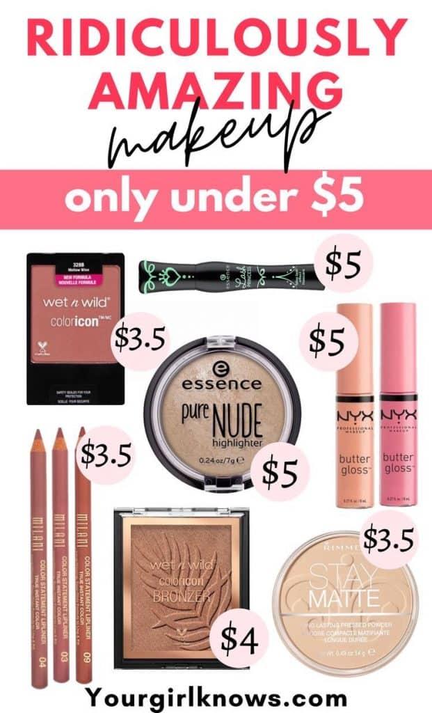 makeup under $5