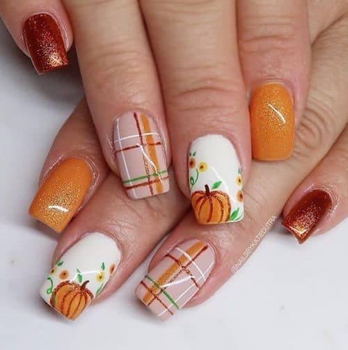 thanksgiving nail design ideas