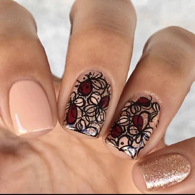 unique thanksgiving nail design