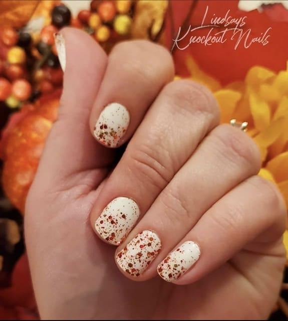 ideas for thanksgiving nails