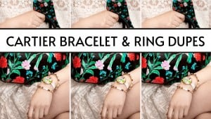 cartier love bracelet dupes & cartier love ring dupes
