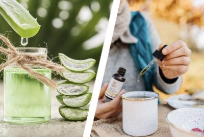 How to get rid of acne scars with aloe vera and tea tree oil