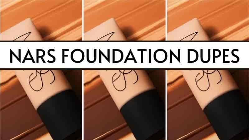 nars foundation dupes