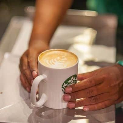 healthy Starbucks drinks - nonfat cappucino