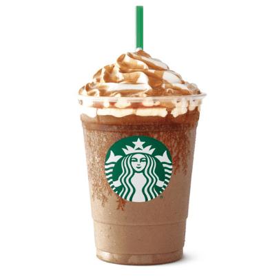 healthy Starbucks drinks - salted caramel mocha