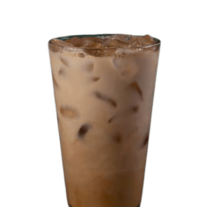 healthy Starbucks drinks - iced cinnamon dolce latte