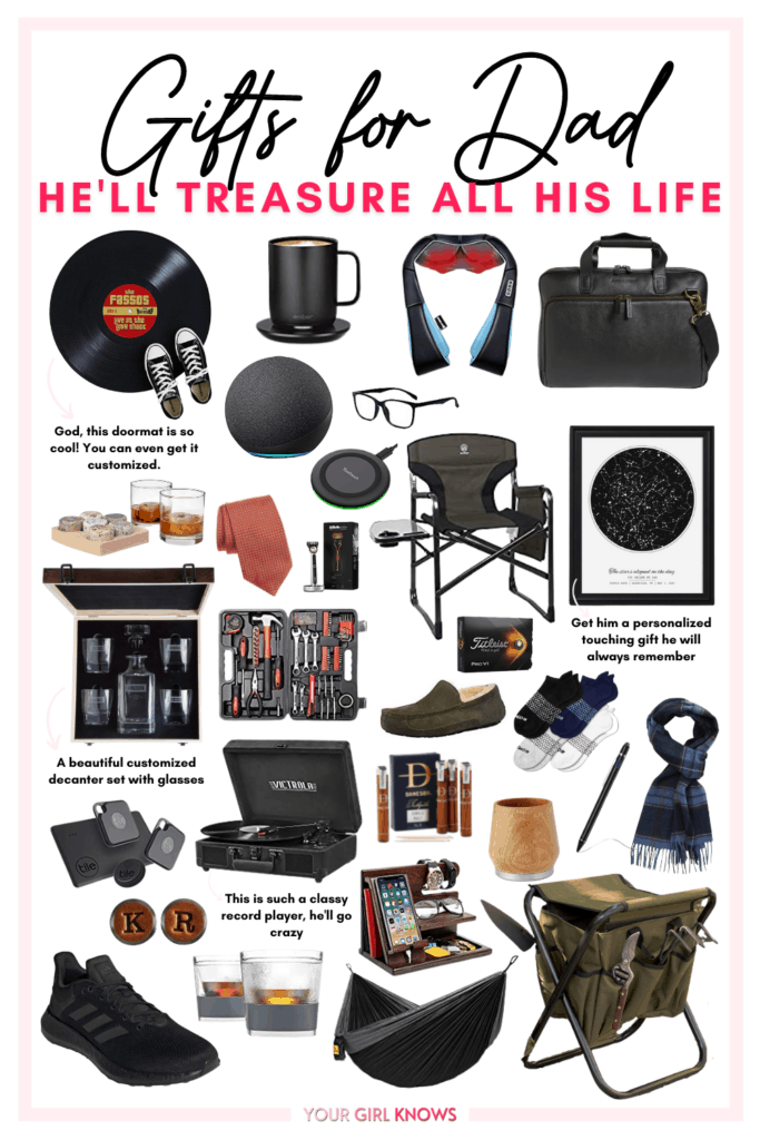 The Most Practical Gifts For Dad He'll Treasure All His Life