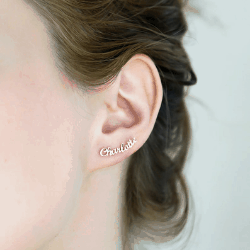 gifts for best friends - customised earrings