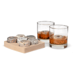 gifts for dad - on the rocks set