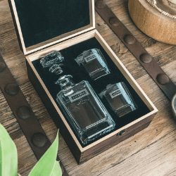 gifts for dad - barware set